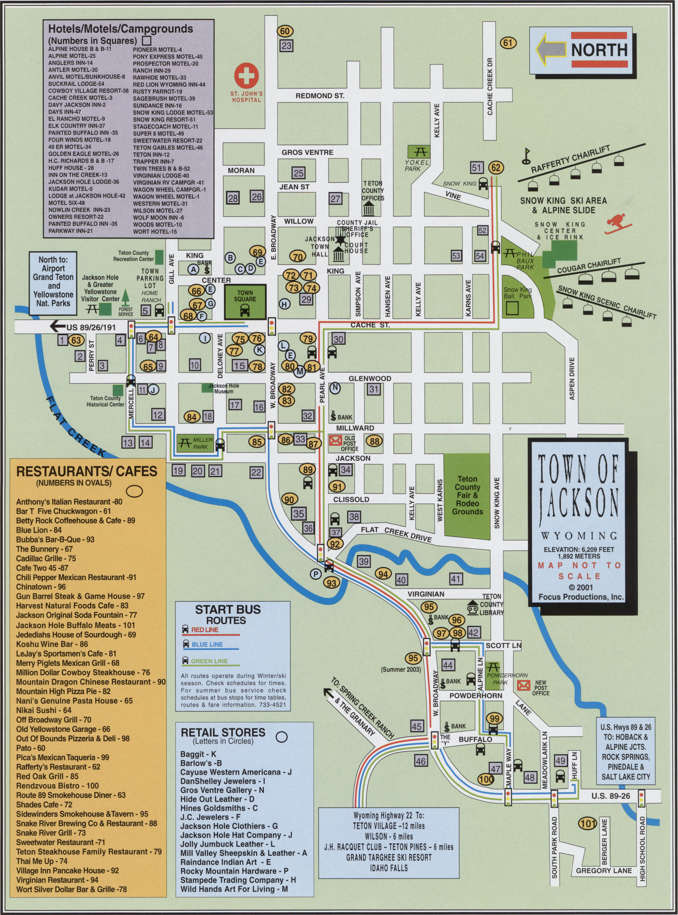 Map Of Downtown Jackson Wyoming Car Tuning